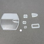 Various type of sapphire glass magnifier of different sizes and shapes. (We could also make them in mineral watch glass)